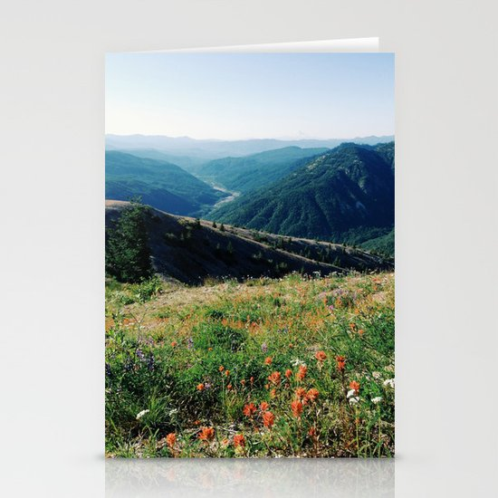 Gifford Pinchot National Forest Stationery Card