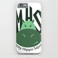 Minty Hippo Squad iPhone 6 Slim Case