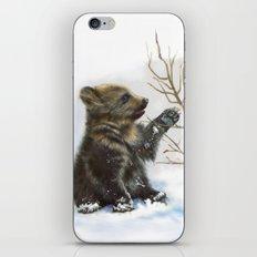 bear cub iPhone & iPod Skin
