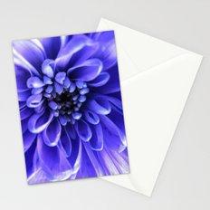 Macro Blue Stationery Cards