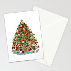 A Decorated Christmas Tree Stationery Cards