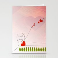 Yoga Master Stationery Cards
