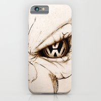 iPhone & iPod Case featuring VW Skull by Cartoon Your Memories