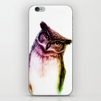 The wise Mr. Owl iPhone & iPod Skin