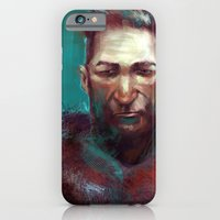 iPhone & iPod Case featuring Man of the North by nlmda