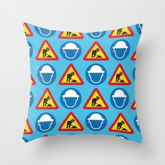 BEASTIE - Texture | Hip Hop | 80's | Music | Retro | Vector | Funny | Street Art | Abstract Throw Pillow
