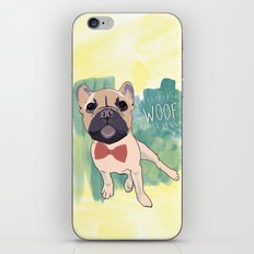 Frenchie Art. Bruno. iPhone & iPod Skin