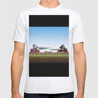 Joust It Mens Fitted Tee Ash Grey SMALL