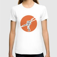 Quick Draw Womens Fitted Tee White SMALL
