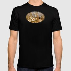 Matricaria - JUSTART © Mens Fitted Tee Black SMALL