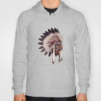 Tiger In War Bonnet Hoody
