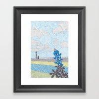 Texas 2 Framed Art Print