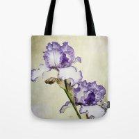 Iris Ripple Tote Bag