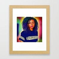 Justine Skye Framed Art Print