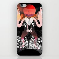 1000 days in the woods III iPhone & iPod Skin