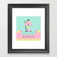 Our Lovely Pets -3 Shere… Framed Art Print