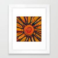 New Sun Framed Art Print