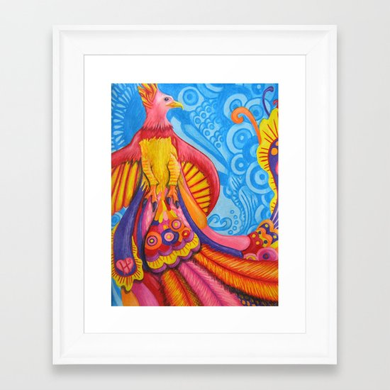 Phoenix Framed Art Print
