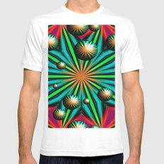Magical Balls White Mens Fitted Tee SMALL