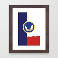 Windy Hill Zone Framed Art Print