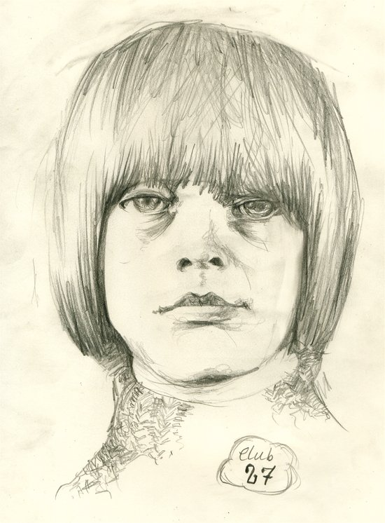Club 27, Brian Jones Art Print