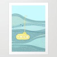 Yellow Submarine Art Print