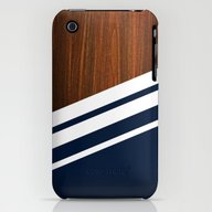 Wooden Navy iPhone (3g, 3gs) Slim Case