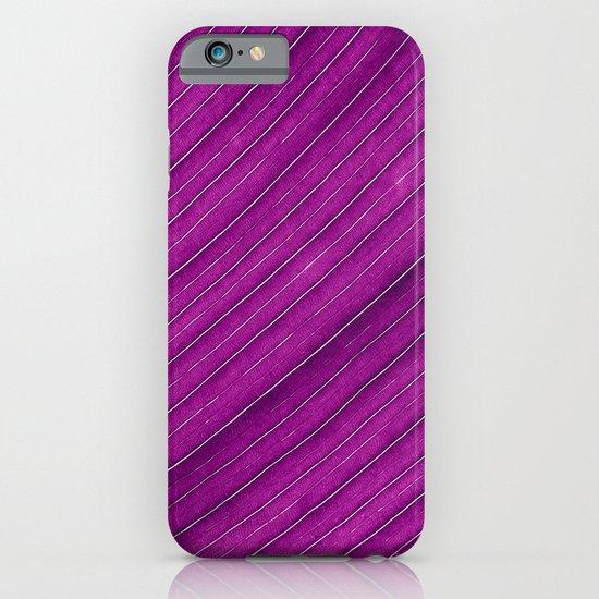 purple banana leaf iPhone & iPod Case