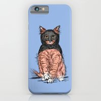 Periwinkle Pink Bat Cat iPhone 6 Slim Case