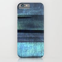 blue abstract iPhone 6 Slim Case