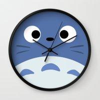 Blue Troll Wall Clock