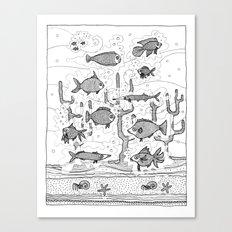 Diversity (underwater) Canvas Print