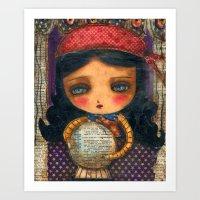 The Fortune Teller Art Print