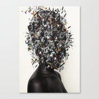 Primitivism / Abundance Canvas Print