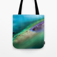 Through The Waves Tote Bag
