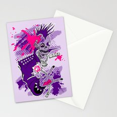 Punk Is Not Dead Stationery Cards