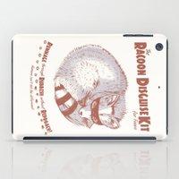 The Raccoon Disguise Kit… iPad Case