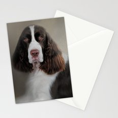 Waiting Patiently - English Springer Spaniel Stationery Cards