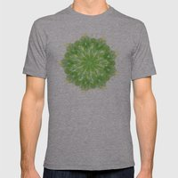EKAGGATA Mens Fitted Tee Athletic Grey SMALL
