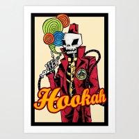 Hookah Art Print