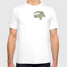 All-I-Grator White SMALL Mens Fitted Tee