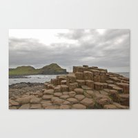 Giant's Causeway Stones Canvas Print