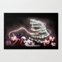 Halloween Year Canvas Print