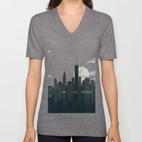 New York City Unisex V-Neck