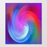 Colours Of A Rainbow Canvas Print