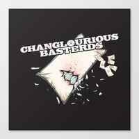 Changlourious Basterds Canvas Print