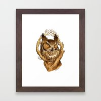 Great Horned Owl Framed Art Print