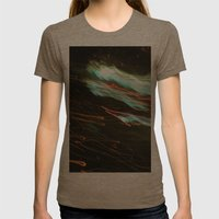 Outerspace Womens Fitted Tee Tri-Coffee SMALL