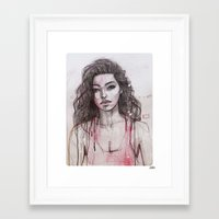 Adrianne 01 Framed Art Print