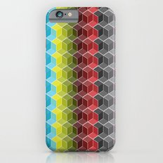 Hexagon Shades / Pattern #6 iPhone 6 Slim Case